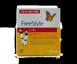 Freestyle diabetes strips