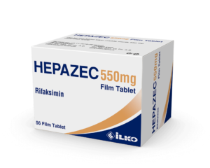 Hepazec is the Turkish brand name for Zifaxan