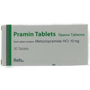 Buy Metcoclopramide Pramin Tablets